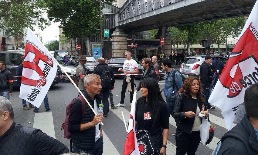 Manif du 14 juin 2016 Paris