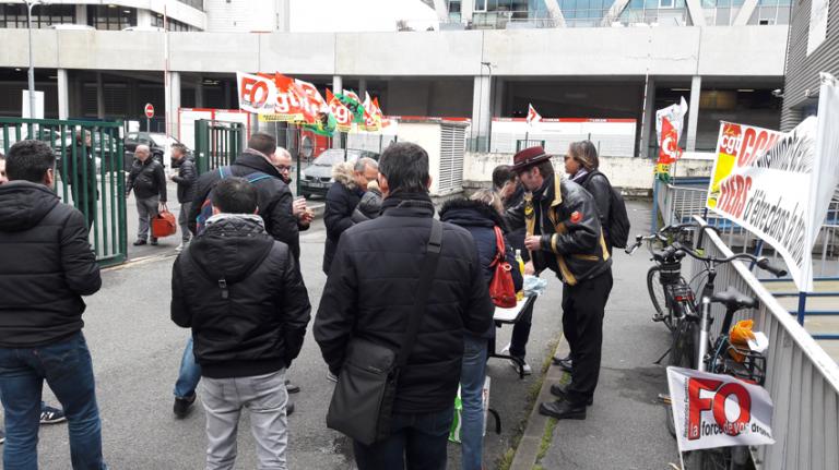 Grève Newrest Wagons-Lits Mars 2018