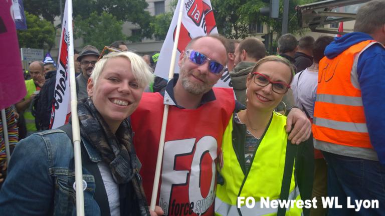 Manif du 14 juin 2016 Lyon