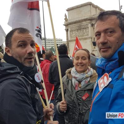 Manif du 24 janvier 2020 Marseille
