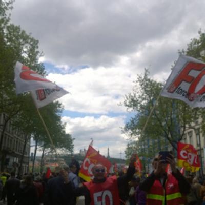 Manif contre la Loi Travail (Lyon)