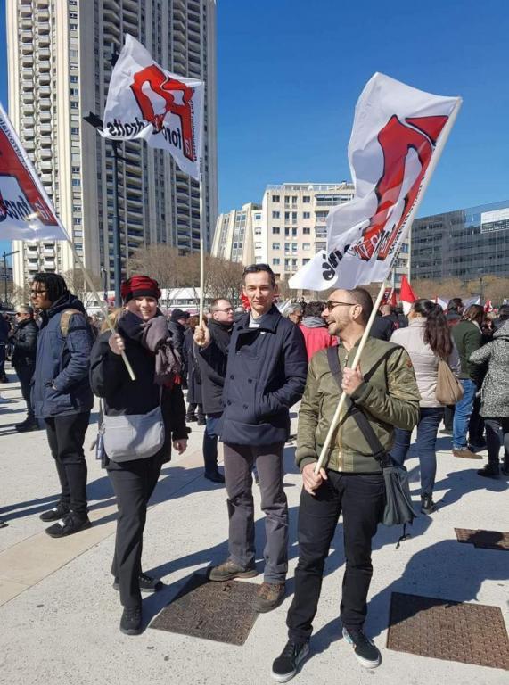 Manif du 22 mars Marseille