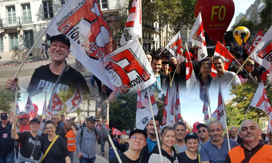Manifestation contre la Loi Macron du 21 septembre 2017