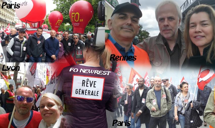Manifestation contre la Loi Travail du 19 mai 2016