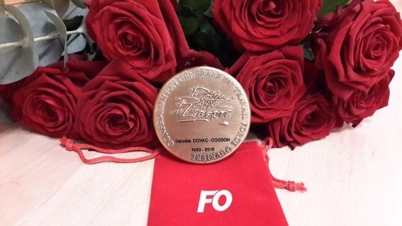 Médaille Force Ouvrière