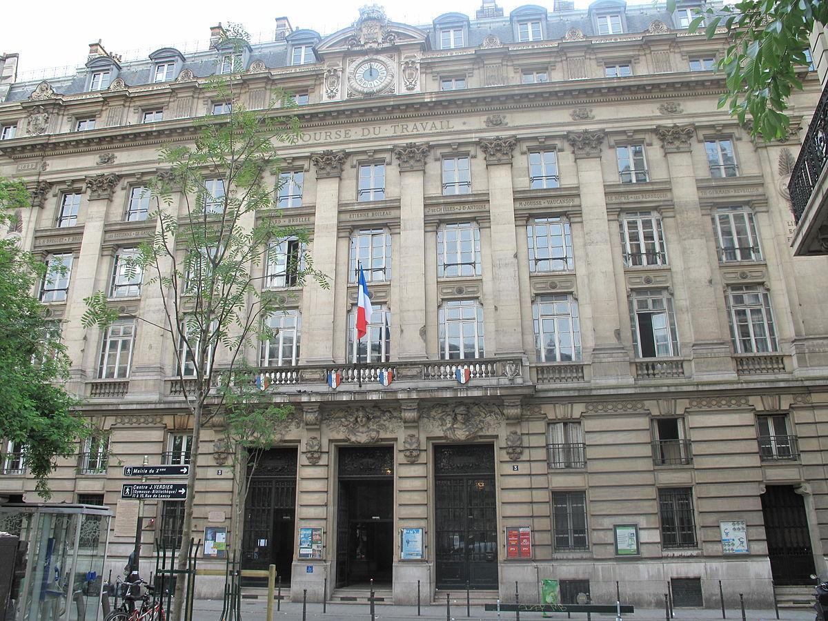 Bourse du travail paris
