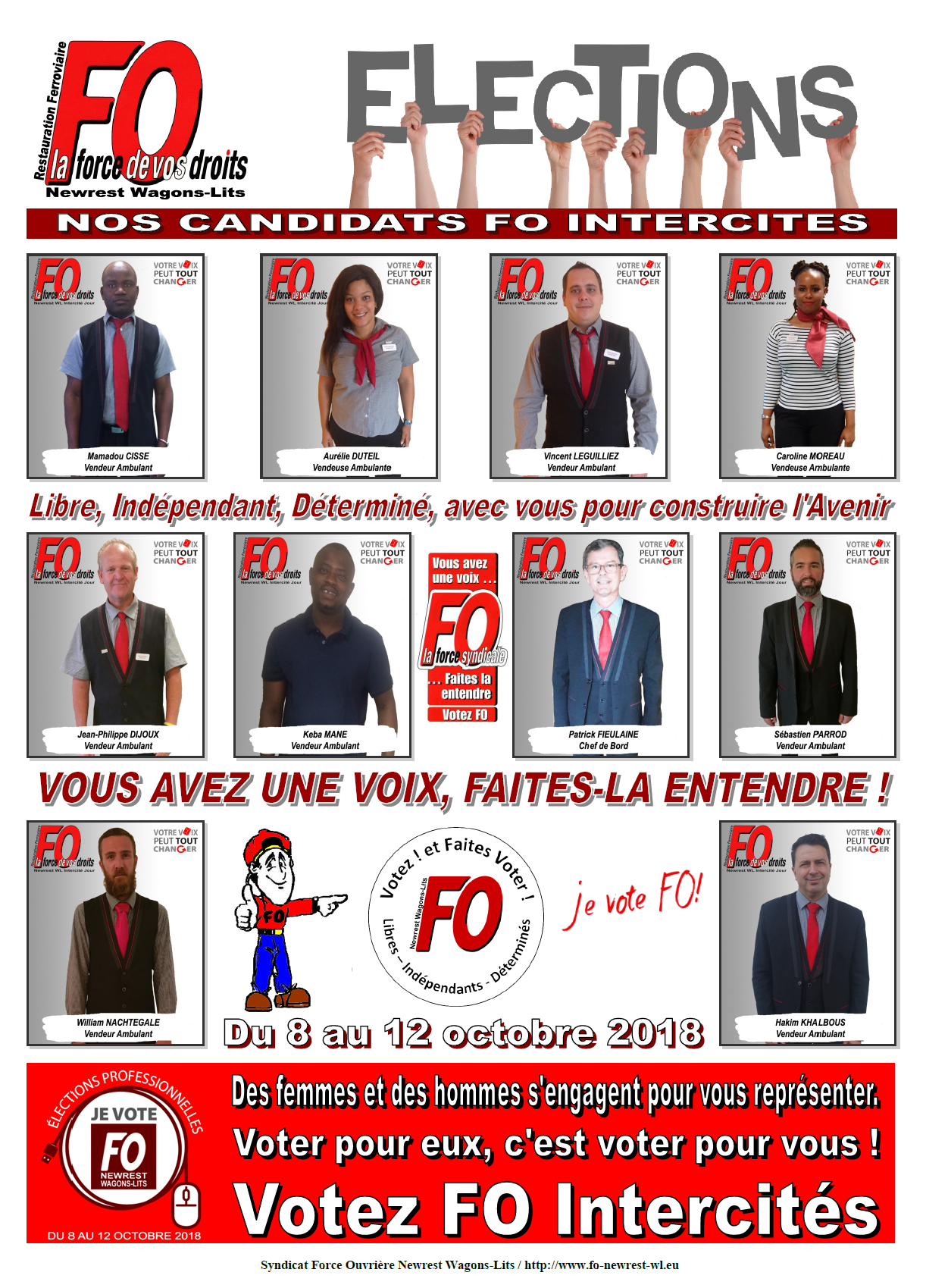 Candidats Intercites