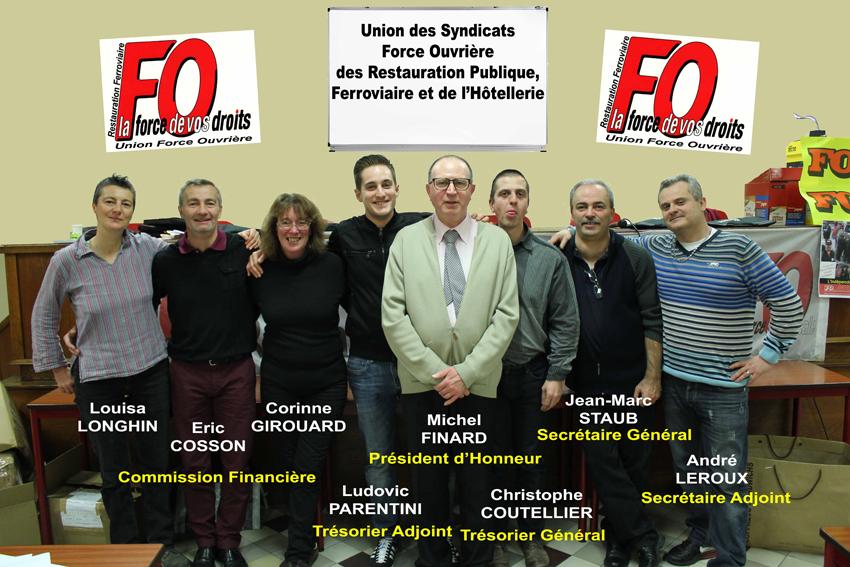 Equipe de l'Union FO RF 2015