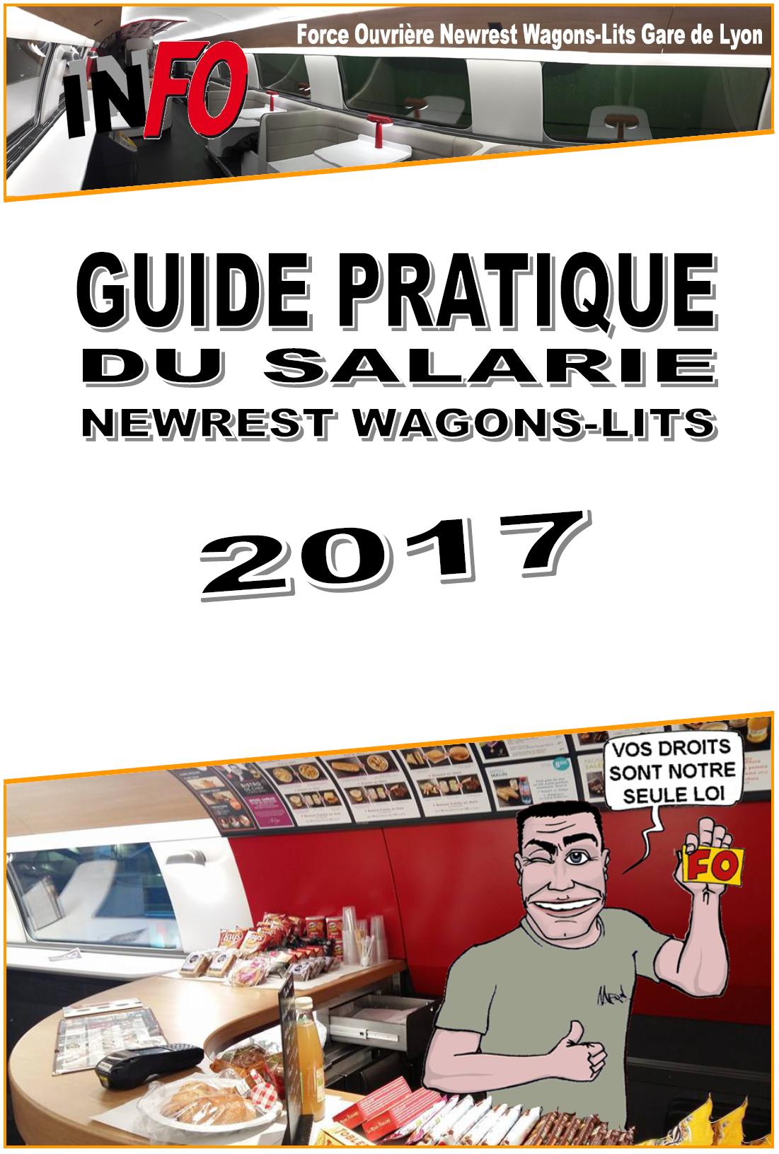 Livret FO Newrest WL Gare de Lyon