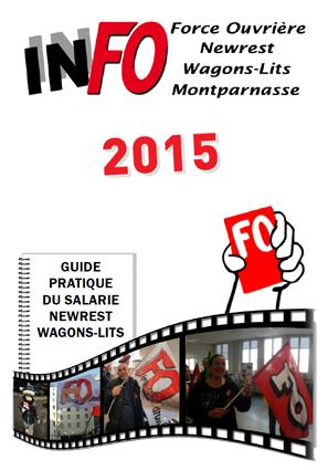 Livret FO Newrest Montparnasse