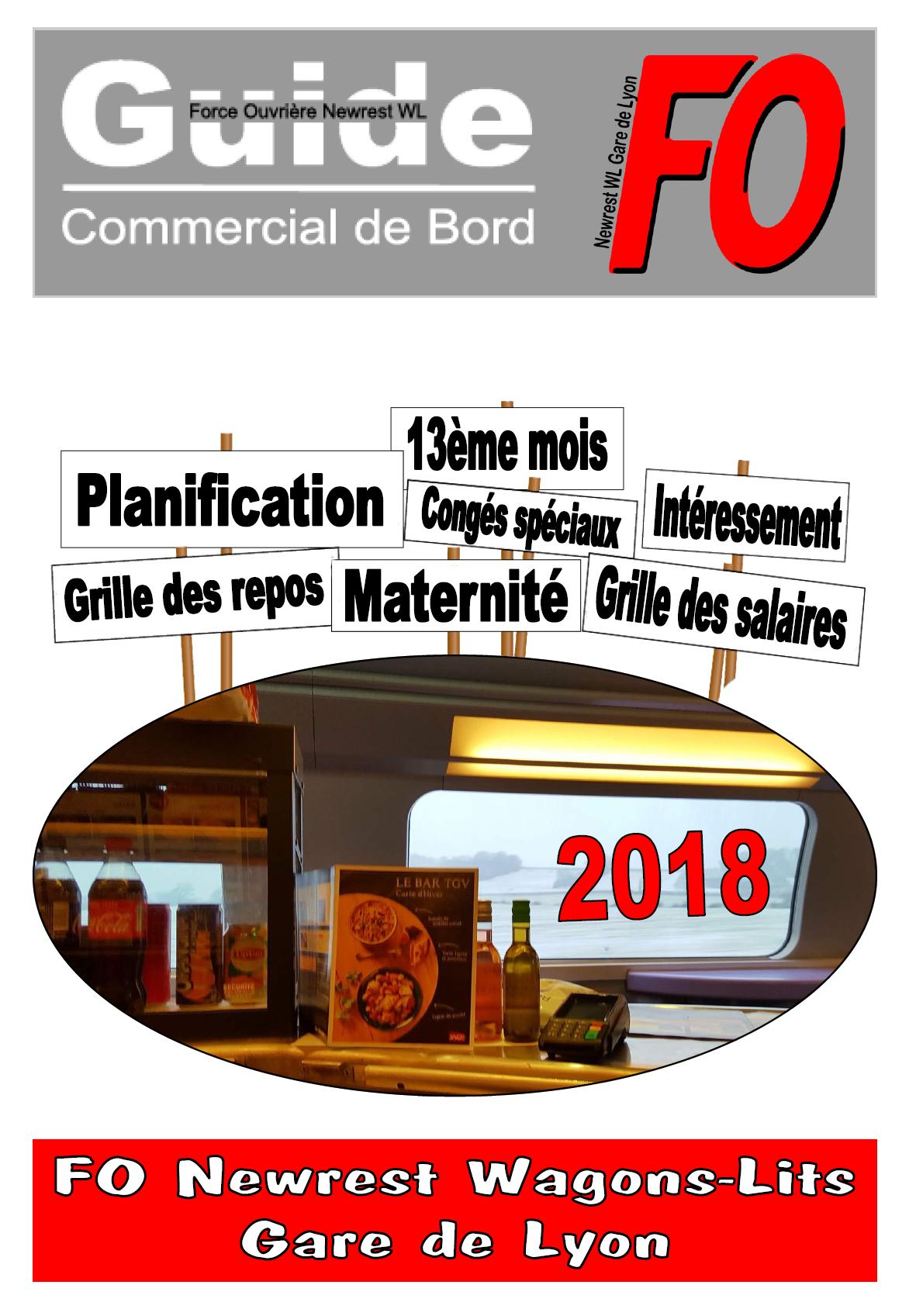 Guide FO Newrest WL Gare de Lyon