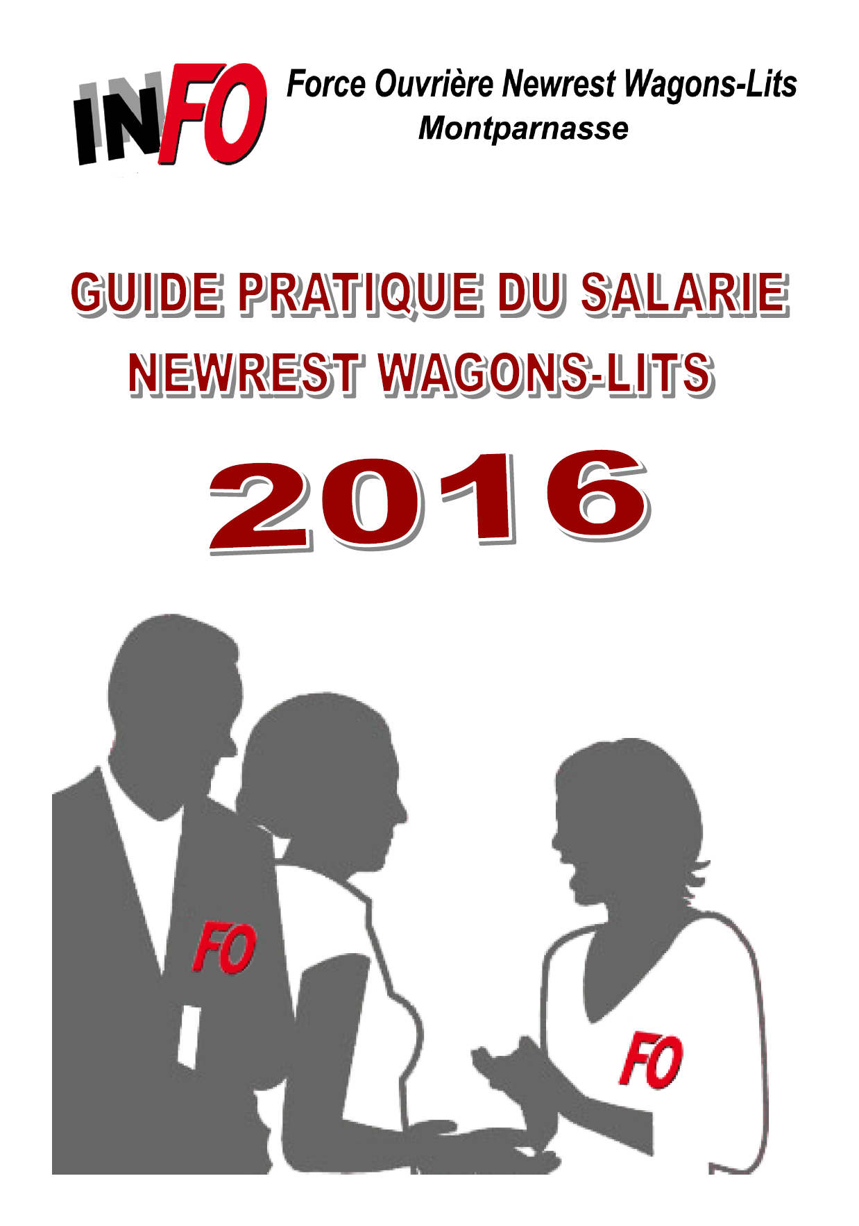 Livret FO Newrest WL 2016